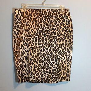 Cache Leopard Mini Skirt